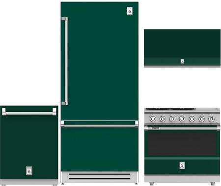 Hestan  963974 Kitchen Appliance Package Green, 1