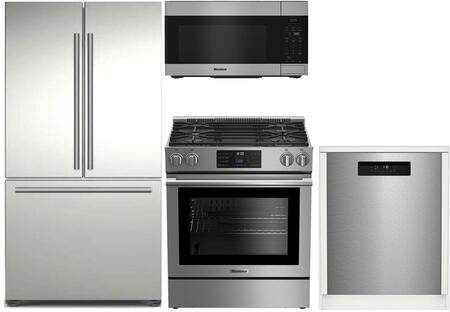 Blomberg  900544 Kitchen Appliance Package Stainless Steel, 900544