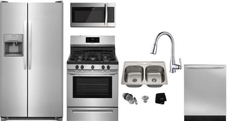 Frigidaire  1289731 Kitchen Appliance Package Stainless Steel, Main image