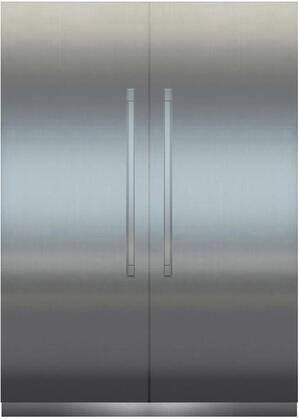 Liebherr Monolith 1134876 Column Refrigerator & Freezer Set Stainless Steel, Main Image