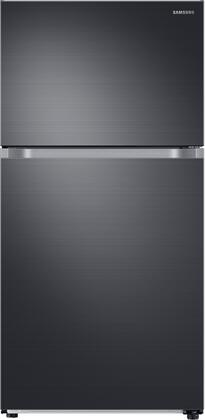 Samsung RT21M6215SG Top Freezer Refrigerator Black Stainless Steel, Main Image