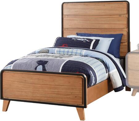 Acme Furniture Carla 30760T Bed Brown, 1