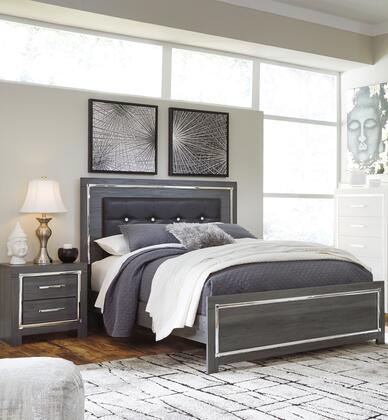 Signature Design by Ashley Lodanna B214QPBBEDROOMSET Bedroom Set Gray, B214QPBBEDROOMSET Main View