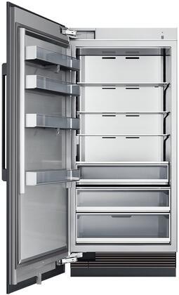 "Dacor Modernist DRR36980LAP Column Refrigerator Panel Ready, DRR36980LAPHeritage 36"" Column Refrigerator Interior"