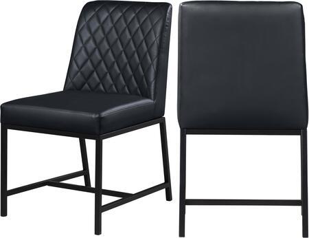 Meridian Bryce 918BLACKC Dining Room Chair Black, 918BLACKC Main Image
