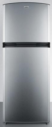 Summit  FF1427SS Top Freezer Refrigerator Stainless Steel, FF1427SS Top Freezer Refrigerator