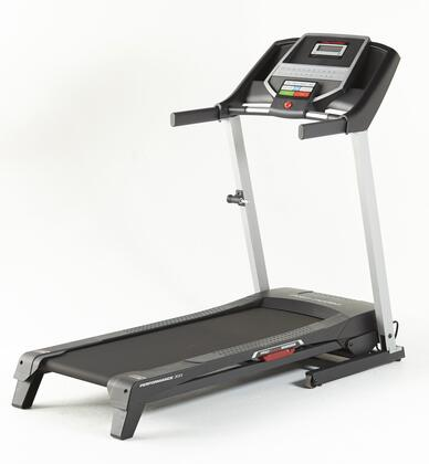 PFTL39115 6.0 RT Treadmill with Integrated Upper Body Resistance Bands LCD Display Digital Quick Speed and Incline Controls 16 Preset...