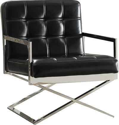 Acme Furniture Rafael 59776 Accent Chair Black, 1