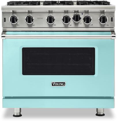 Viking 5 Series VGIC53626BBWLP Freestanding Gas Range Blue, VGIC53626BBWLP Gas Range