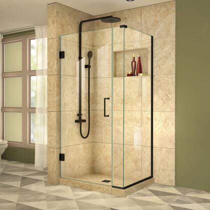 DreamLine  SHEN2429534009 Shower Enclosure , Unidoor Plus Shower Enclosure RS39  30D 6IP 30RP 09