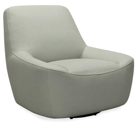 Hooker Furniture CC Series CC461SW095 Living Room Chair Gray, Silo Image