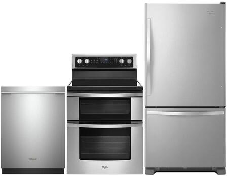 Whirlpool 995378 Kitchen Appliance Package & Bundle Stainless Steel, main image