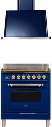 Ilve  1311503 Kitchen Appliance Package Blue, Main Image