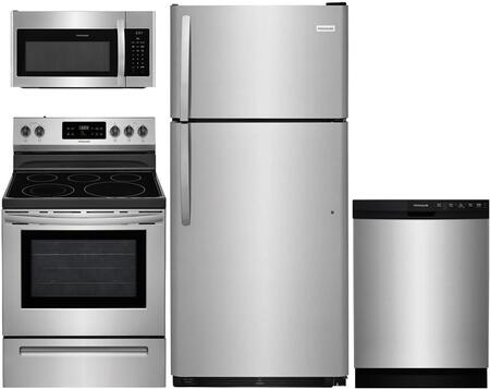 Frigidaire 891188 Kitchen Appliance Package & Bundle Stainless Steel, main image