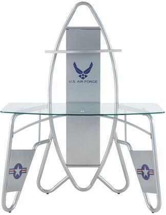 Acme Furniture Aeronautic 92015 Desk Silver, Desk