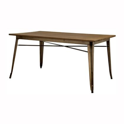 Furniture of America Cooper I CM3529T Dining Room Table , Main Image