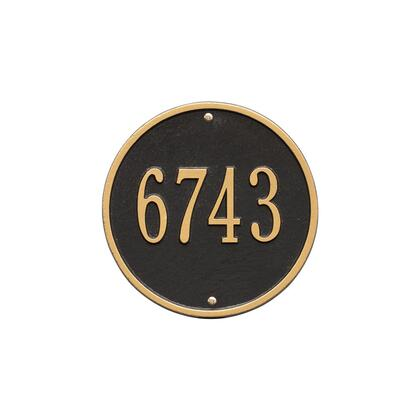 Whitehall Products 1033BG Address Plaques, Main Image