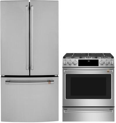 Cafe  1076232 Kitchen Appliance Package Stainless Steel, main image