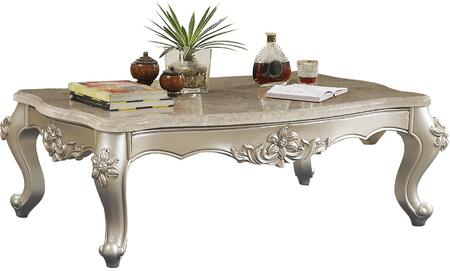 Acme Furniture Bently 81665 Coffee and Cocktail Table Beige, Coffee Table
