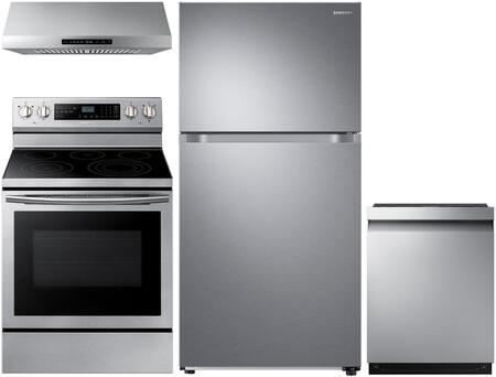 Samsung  1011105 Kitchen Appliance Package Stainless Steel, main image