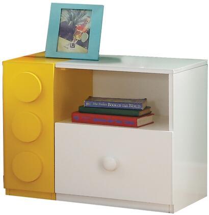 Acme Furniture Playground 30749 Nightstand White, Nightstand