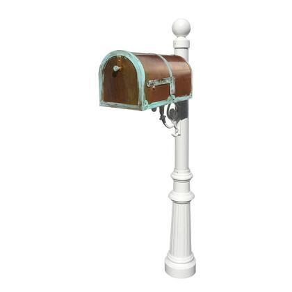Qualarc Provincial MB3000PATLP804WHT Mailboxes, MB 3000 PAT LP804 WHT