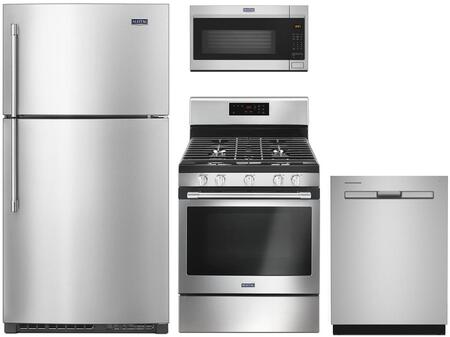 Maytag 1125674 Kitchen Appliance Package & Bundle Stainless Steel, main image