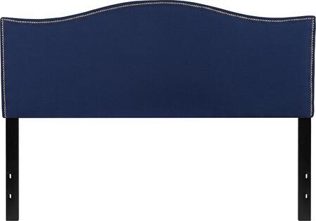 Flash Furniture Lexington HGHB1707QNGG Headboard Blue, HG HB1707 Q N GG