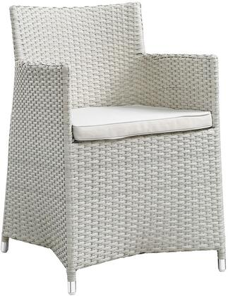 Modway Junction EEI1505GRYWHI Patio Chair Gray, 1