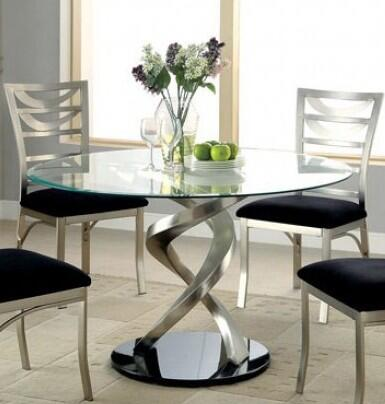 Furniture of America Roxo CM3729TTABLE Dining Room Table Multi Colored, main image