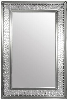 Acme Furniture Nysa 97387 Mirror Silver, Mirror