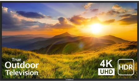 SB-S2-75-4K-BL 75″ Signature 2 Series 4K UHD Outdoor TV with HDR  OptiView Technology and TruVision Anti-Glare Technology in