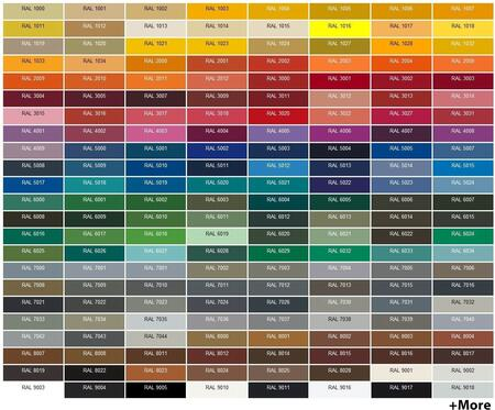 BlueStar  PAINTSTDRALDEWO Color Option , RAL Color Options
