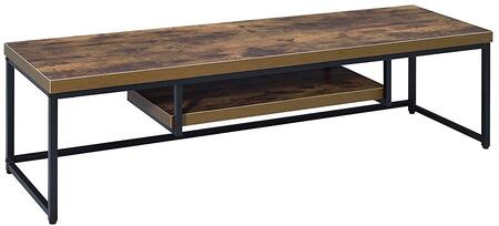 Acme Furniture Bob Series 91782 52 in. and Up TV Stand Brown, 1
