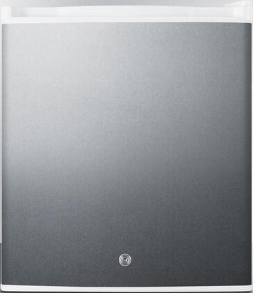 Summit  FFAR25L7BISS Compact Refrigerator Stainless Steel, Main Image