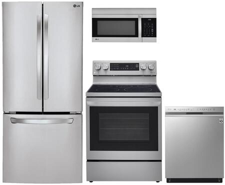 LG  935418 Kitchen Appliance Package Stainless Steel, Main image