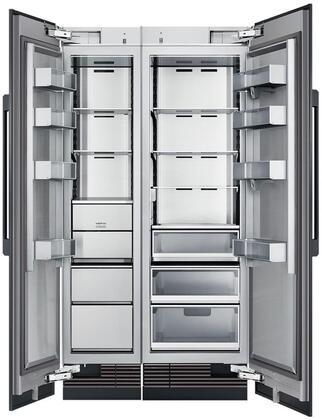 Dacor Contemporary 975080 Column Refrigerator & Freezer Set Panel Ready, 1