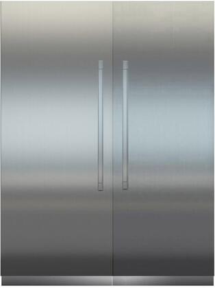 Liebherr Monolith 1134881 Column Refrigerator & Freezer Set Stainless Steel, Main Image