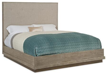 Hooker Furniture Pacifica 607590866LTWD Bed Gray, Silo Image