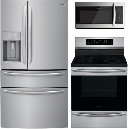 Frigidaire  1010218 Kitchen Appliance Package Stainless Steel, Main image