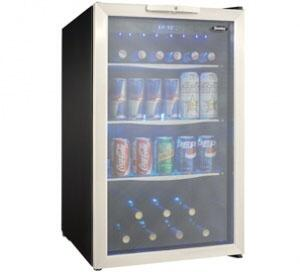 Danby  DBC039A1BDB Beverage Center Stainless Steel, Main Image
