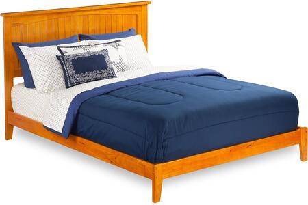 Atlantic Furniture Nantucket AR8241037 Bed Brown, AR8241037