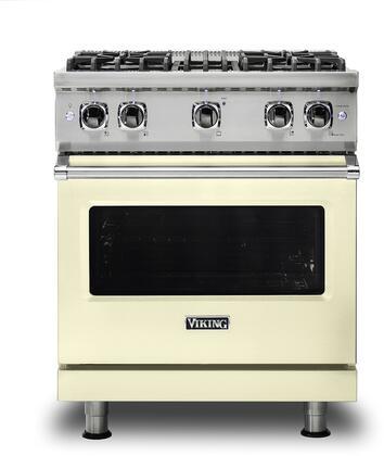 Viking 5 Series VGR5304BVC Freestanding Gas Range Bisque, VGR5304BVC Gas Range