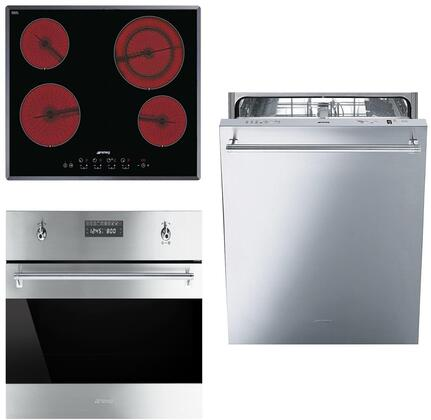 Smeg 890657 Kitchen Appliance Package & Bundle Stainless Steel, 1