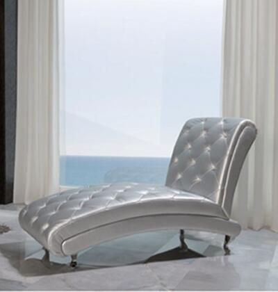 ESF Lorena I2093 Chaise Lounge Silver, Main Image