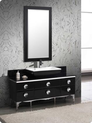 Fresca Moselle FVN7716BL Sink Vanity Black, 1
