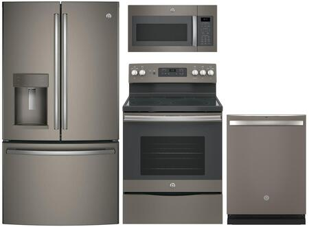 GE  844616 Kitchen Appliance Package Slate, Main Image