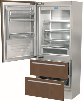 Fhiaba Integrated FI36BDILO Bottom Freezer Refrigerator Panel Ready, FI36BDILO Bottom Freezer Refrigerator