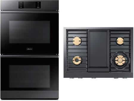 Dacor  938020 Kitchen Appliance Package Graphite Stainless Steel, 1