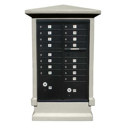 Qualarc Estateview EVMCSHRTNP Mailboxes, EVMC SHRT NP